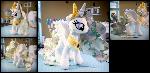 Brocade Princess Celestia Plushie