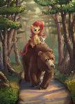 Riding Bear