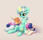 Lyra and Bon-Bon