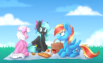 Flamelight Dash, Starfire and Feather Dust [C]