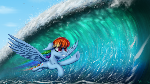 [Commission] Chasing the waves