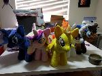Assorted one foot ponies