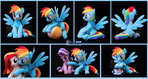 Rainbow Dash plush XL