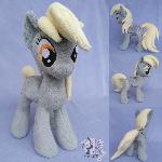 Derpy (Ditzy Doo) Pony plush