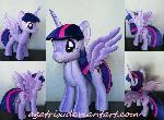 Alicorn Twilight Sparkle plush