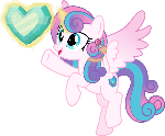 MLP Vector - Grown Up Flurry Heart