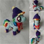 Winter Wonder Rainbow Dash Plush