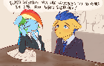 What if... Rainbow Dash was a lawyer