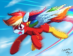 Commission: Rainbow Flash