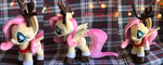 Fluttershy Christmas Deer Plush