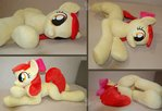 Apple Bloom BIG plushie - llifesize mlp fim plush