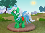 Pipe Cleaner Lyra Heartstrings