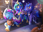[Reward] Nightmare Night As Princesses