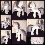MLP 13 inch Marble Pie plushie - BronyCon 2016