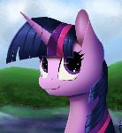 Twilight Sparkle Portrait - Version 2!