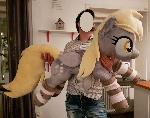Another image of lifesize Derpy