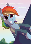 Dashie be smilin'