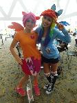 Rainbowdash and Scootaloo
