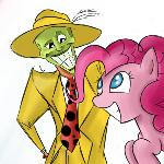 The Mask and Pinkie
