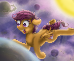 [Commission] Big Solar Pegasus