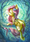 Fluttershy the Forest dryad