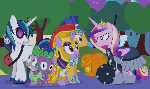 A Crystal Empire Halloween