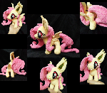 Mini Flutterbat Plushie For Sell