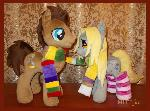 Dr Whooves and Derpy Hooves