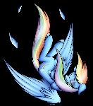 Rainbow Dash (Falling)