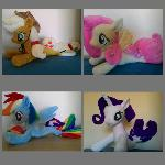 MLP plush-sea pony plush-my little pony