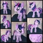 MLP 13 inch alicorn Twilight plush - BronyCon 2016