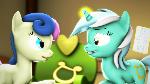 {SFM} MLP: Lyra and Bonbon day