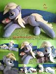 Life size (laying down) Derpy plush for sale