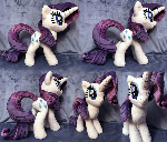 Rarity Plush .: ON ETSY :.