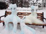Snow Lyra and Bon Bon