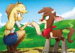 .:Human Pony n' Cow:.