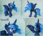 Custom plush Luna 12 inches