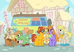 Scooby Doo Ponies