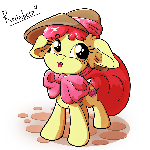 Applebloom in a Hat
