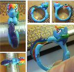 Rainbow Dash Ring