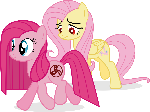 Pinkie and Fluttershy - WDA (When Demons Awake)
