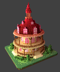 Voxel Ponyville Town Hall