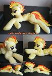 Life size (laying down) Spitfire plush