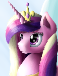 Royal Portrait - Princess Cadence (redo)