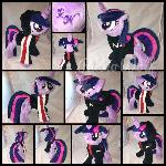 MLP 10in Twilight Plush w/ N7 jacket :Commission: