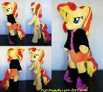 Sunset Shimmer (anthro) plush