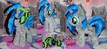 Homage pony plush