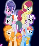 MLP Mothers of Mane 6