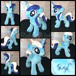 EFNW '17 - MLP 10 inch Minuette/Colgate Plushie