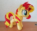 Sunset shimmer small plush comission